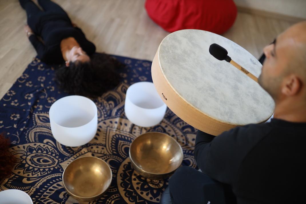meditazione e massaggio sonoro